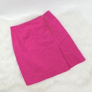 Lilly Pulitzer Arizona Fuchsia Skirt Zip Pleat